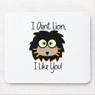 El león tiene gusto alfombrilla de ratón