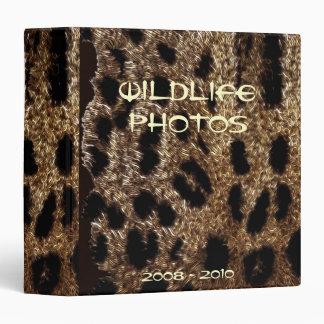 El LEOPARDO MANCHA el álbum de foto (la carpeta)