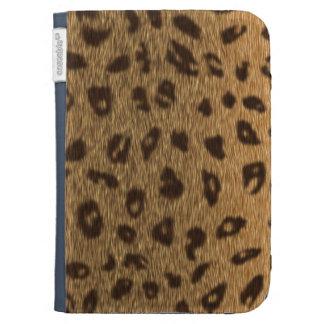 El leopardo mancha el gato grande de la piel de