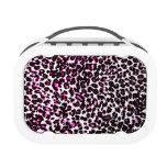 El leopardo rosado mancha el modelo
