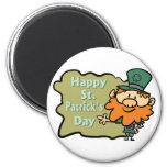 El Leprechaun de St Patrick feliz Imán