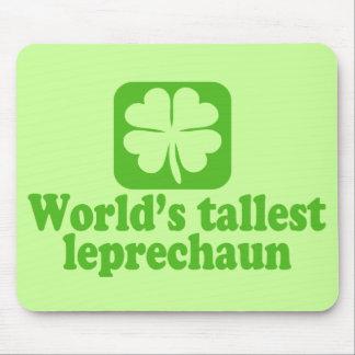 El Leprechaun más alto de los mundos Tapetes De Raton