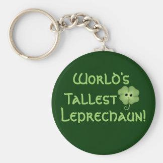 El Leprechaun más alto del mundo Llavero Redondo Tipo Pin