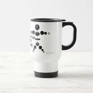 El levantamiento de pesas de encargo es vida taza de café