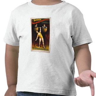 El levantamiento de pesas de los vodeviles de Sand Camisetas