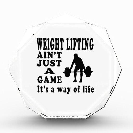 El levantamiento de pesas no es apenas un juego qu