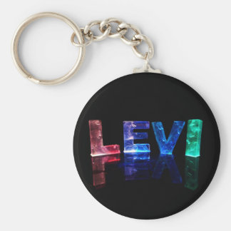 El Levi conocido en 3D se enciende (la fotografía) Llavero Personalizado
