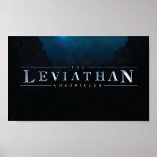 El leviatán crónica el poster del logotipo