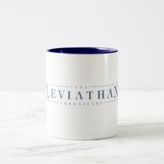 El leviatán crónica la taza del logotipo