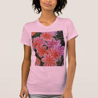 El Lewisia-Cotiledón precioso Camiseta