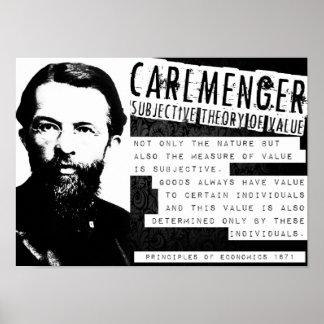 El libertario austríaco de la escuela de Carl Posters