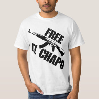¡EL LIBRE CHAPO! PLAYERA