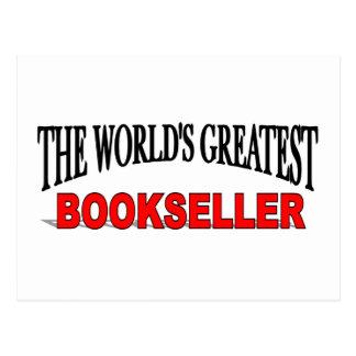 El librero más grande del mundo tarjetas postales