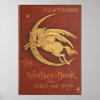 El libro 1884 de la maravilla póster