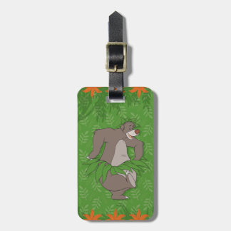 El libro Baloo de la selva con la falda de hierba Etiquetas Para Maletas
