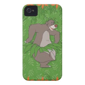 El libro Baloo de la selva con la falda de hierba Case-Mate iPhone 4 Carcasas