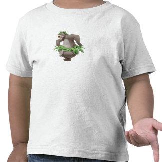 El libro Baloo de la selva con la falda de hierba  Camisetas