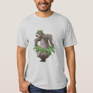 El libro Baloo de la selva con la falda de hierba Remera