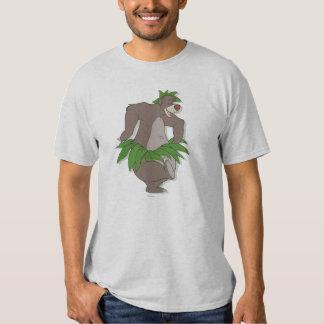 El libro Baloo de la selva con la falda de hierba Remeras