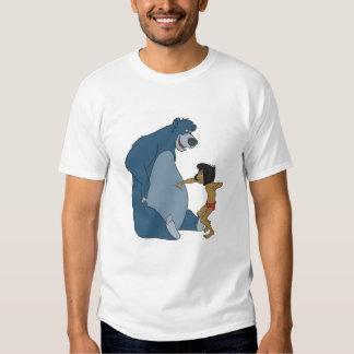 El libro Baloo y Mowgli Disney de la selva Remera
