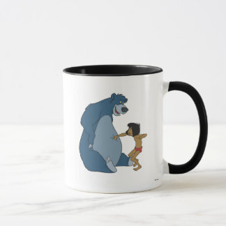 El libro Baloo y Mowgli Disney de la selva Taza