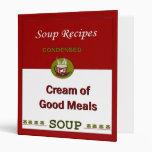 El libro de cocina del libro del cocinero de la so