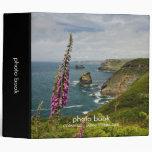 El libro de Cornualles de la foto de la costa