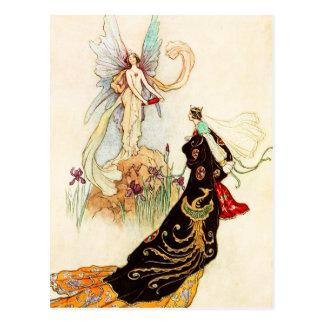 El libro de hadas: La mariposa Tarjeta Postal