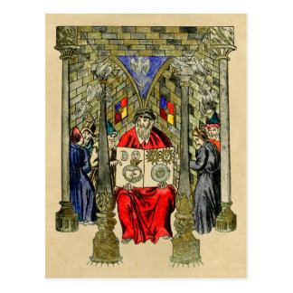 El libro de la alquimia y de los artes herméticos tarjeta postal