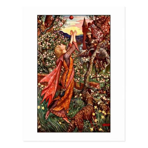 El libro de la hada de la lila postal
