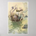 El libro de la poesía de hadas, nautilus es mi bar posters
