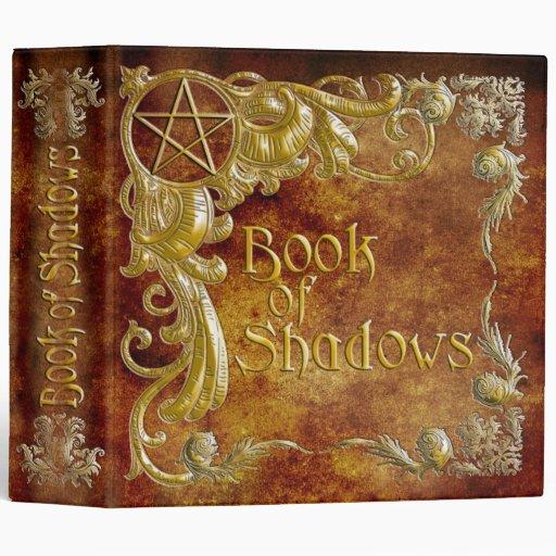 """El libro de sombras con oro destaca #1 carpeta 2"""""""