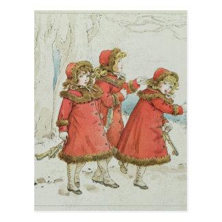 El libro de tonos, 1900 del bebé de Winter a Tarjeta Postal