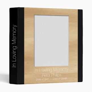 """El libro de visitas fúnebre de la plantilla de carpeta 1"""""""