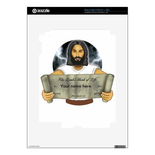 El libro del cordero de la vida skin para el iPad 2