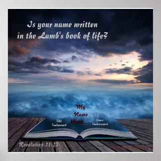El libro del cordero del poster de la vida