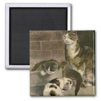 El libro del gato: Los gatitos serán gatitos Imán
