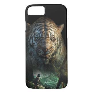 El libro el   Shere Khan y Mowgli de la selva Funda iPhone 7