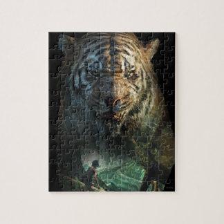 El libro el | Shere Khan y Mowgli de la selva Puzzle Con Fotos