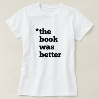 El LIBRO era la camiseta de mejores mujeres - luz Remeras