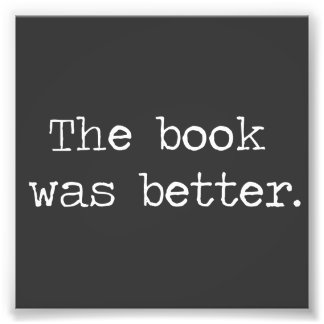 El libro era mejor cojinete