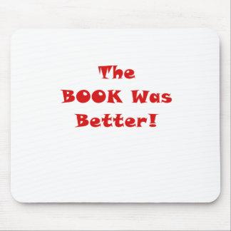 El libro era mejor alfombrilla de ratón