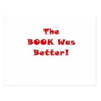 El libro era mejor tarjeta postal