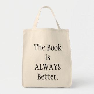 El libro es mejor bolsa