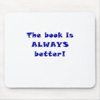 El libro es siempre mejor alfombrilla de ratón