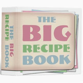 """El libro GRANDE 2"""" de la receta carpeta de Avery"""