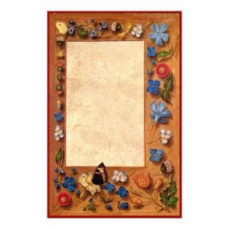 El libro medieval de los efectos de escritorio del papeleria personalizada