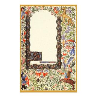 El libro medieval de los efectos de escritorio del  papeleria