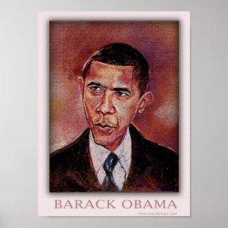 El líder Barack Obama Póster