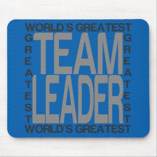 El líder de equipo más grande de los mundos tapete de ratón